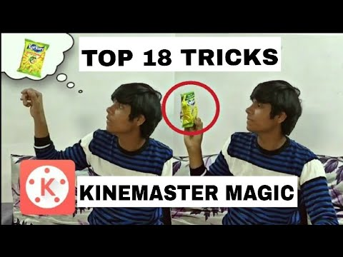 TUTORIAL ZACH KING 18 MAGIC EDITING TRICKS  |  ANDROID  |
