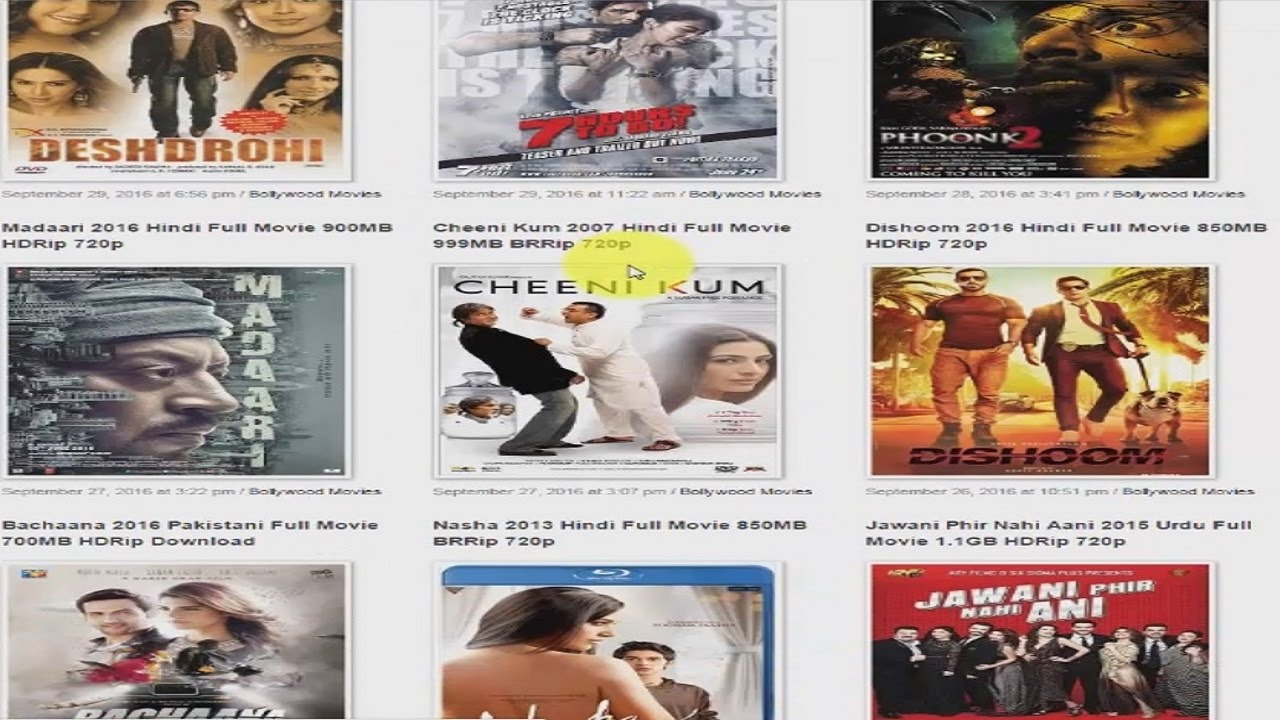 how to download lastest movies in hd 1080p 720p - youtube