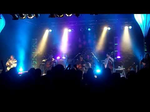 RAILROAD EARTH Magic Foot - Luxury Liner (been a long lost soul for a long long time lyrics) 1-21-14