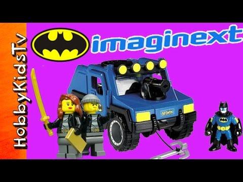 Trixie Shows - Imaginext Batman DC Super Friends ATV Trixie Break In Twitter Instagram HobbyKidsTV #HKTV
