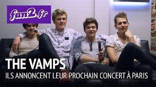 The Vamps : Ils annoncent leur prochain concert à Paris