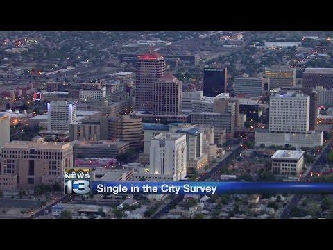 Study: Albuquerque ranks low as a city for singles