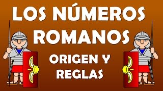 LOS NÚMEROS ROMANOS : Origen, reglas y juegos para primaria