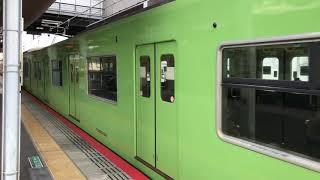 大和路線201系久宝寺駅発車①