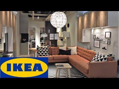 IKEA STORE WALK THROUGH SHOP WITH ME SHOPPING FURNITURE SOFAS ARMCHAIRS HOME DECOR 4K