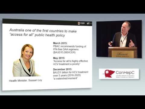18-Prof. Greg Dore: Universal Access to Direct-Acting Antiviral Therapies in Australia