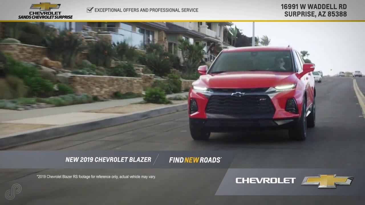 Sands Chevrolet Surprise Az >> 2019 Chevrolet Blazer Offer Sands Chevrolet Surprise October Sp 3