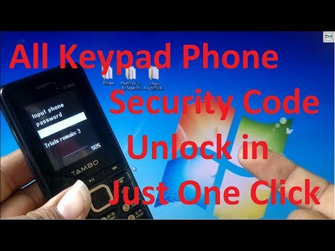 All | Keypad Phone Password Unlock | By One Click Solution | MT6261 | By  Sagar Mobile