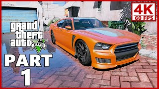 Grand Theft Auto 5 Gameplay Walkthrough Part 1 - GTA 5 (PC 4K 60FPS)