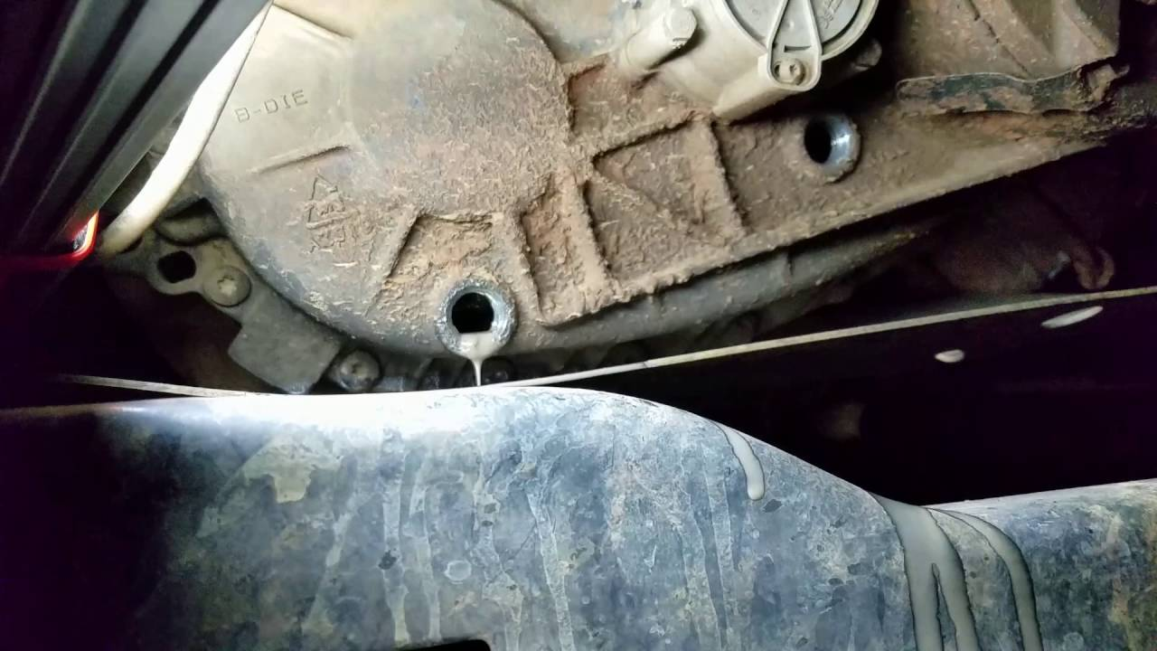 How To Drain And Fill Flush A Transfer Case 1997 Ford