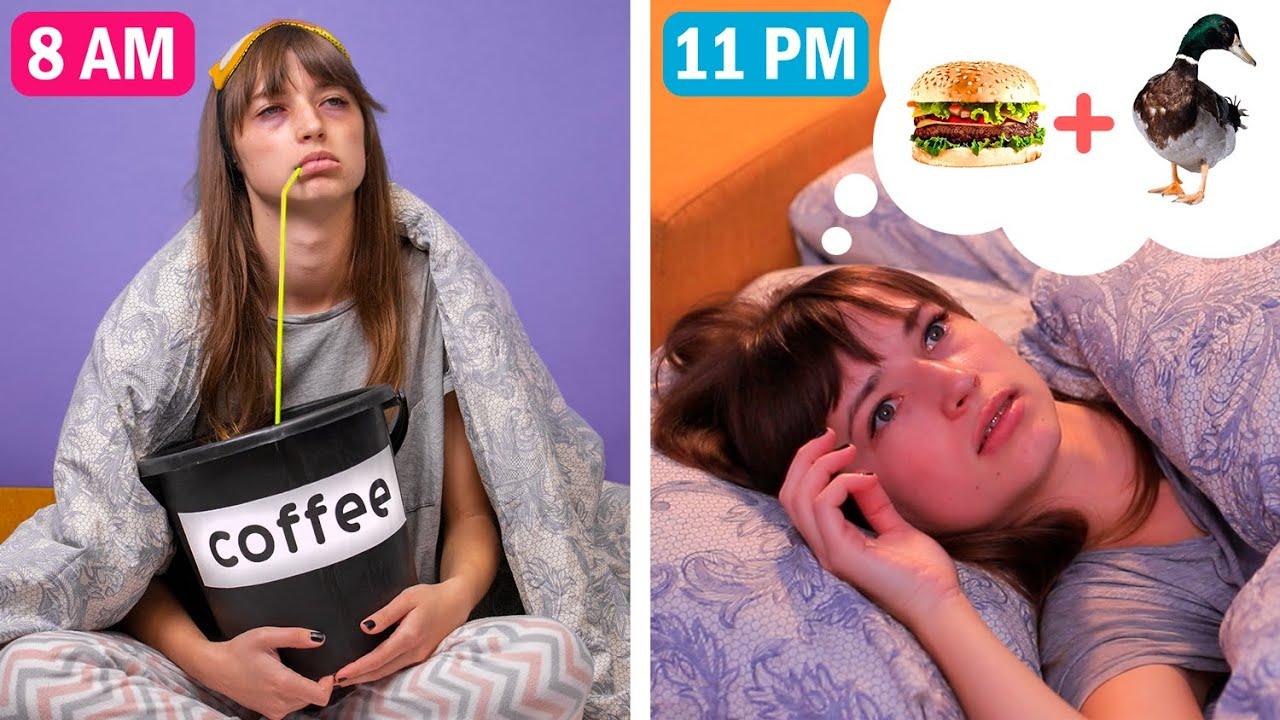 13 Tình Huống Bạn Chắc Chắn Từng Trải Qua/ Chim Sớm Vs Cú Đêm