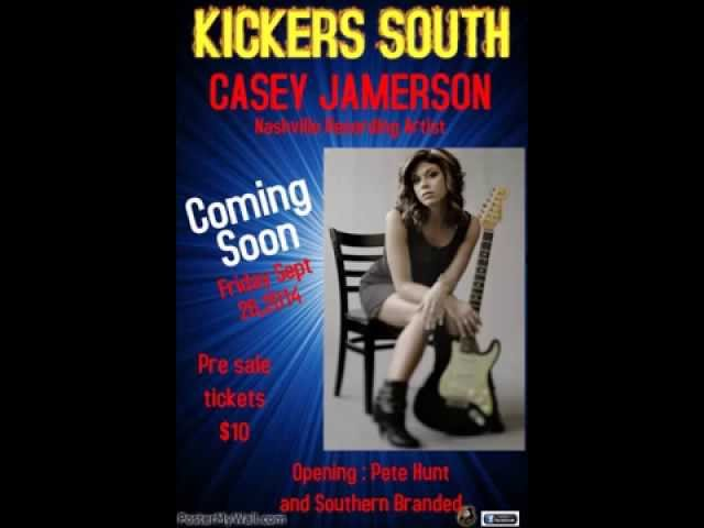 Casey Jamerson w/ Pete Hunt Opening show at Kickers South