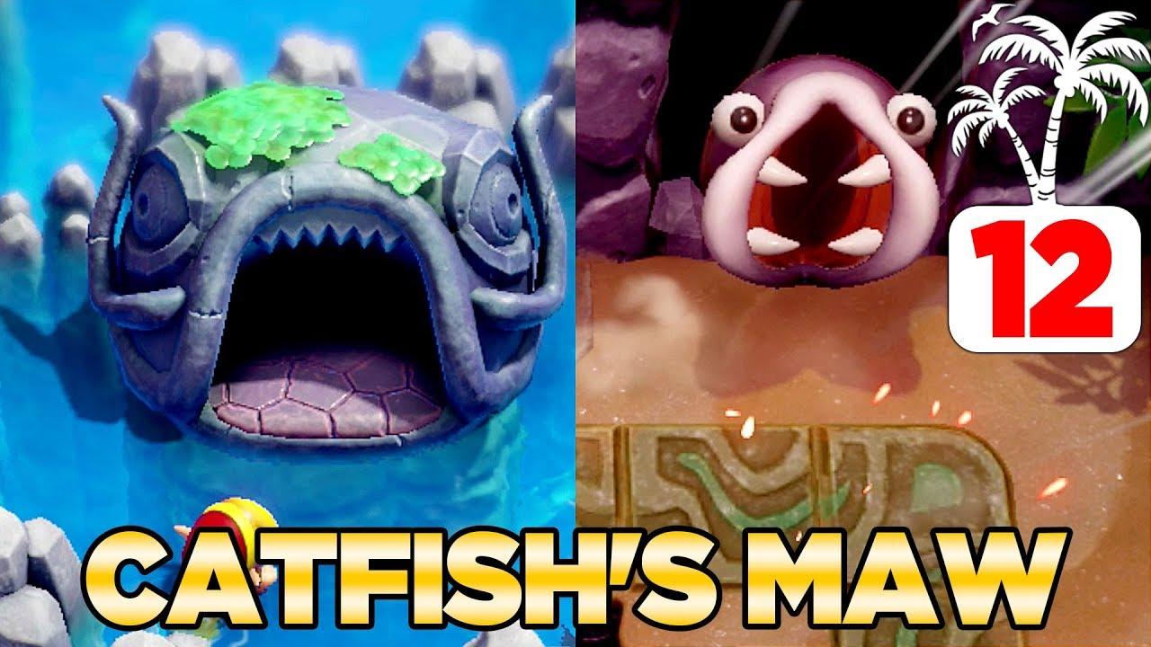 The Catfish Maw Slime Eel In Link S Awakening Switch 100