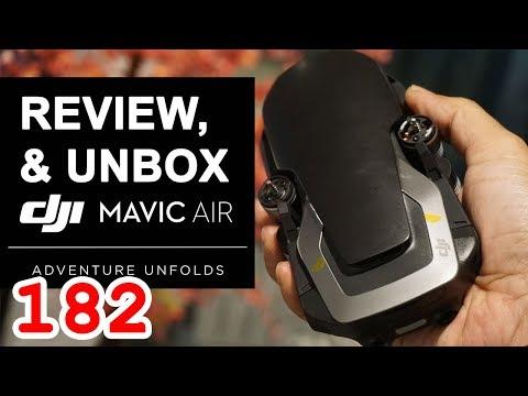 Review dan Unbox DJI MAVIC AIR Indonesia - Support by Plaza Kamera