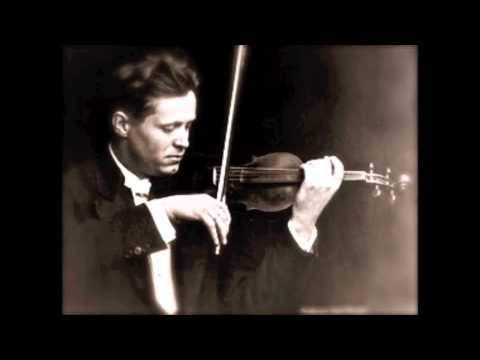 Adolf Busch plays Bach's Chaconne