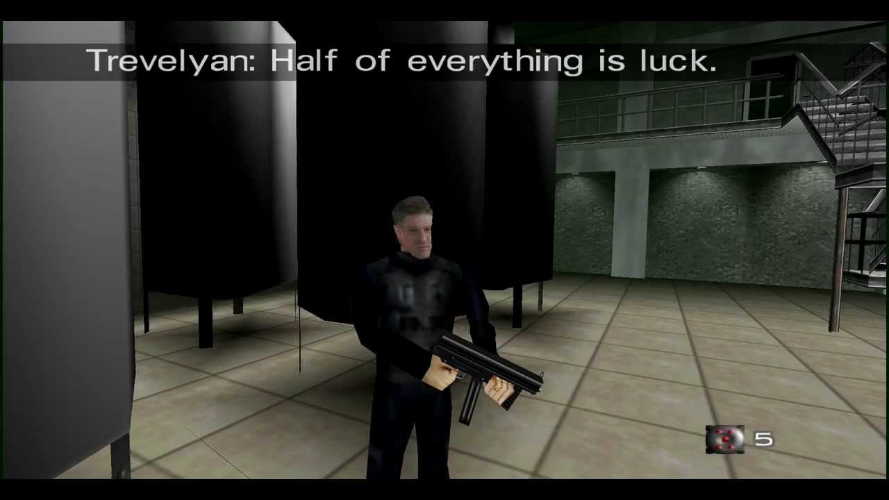 60 Seconds Game >> GoldenEye 007 N64 - Facility - 00 Agent - YouTube