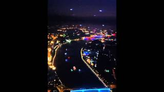 Overview of Guangzhou from Canton Tower(night)