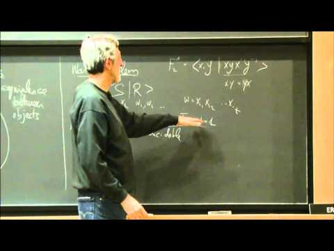 The singularity of symbolic matrices (Pt.2) - Avi Wigderson