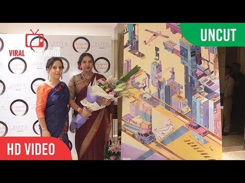 UNCUT -  Stories Unlimited   New Painting Collections Launch   Sangeeta Babani   Shabana Azmi