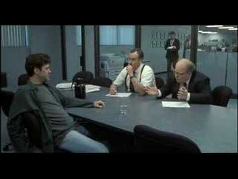 Office Space The Bob S Interview Typical Day Youtube