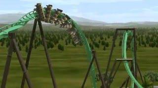 dinosaur flying coaster universal studios japan 2016 offride nolimits 2