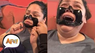 Download lagu Funny Makeup and Waxing Fails | Beauty Is Pain | AFV Funniest Fails 2018