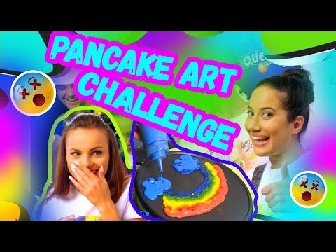 🔝Pancake art challenge + GIVEAWAY | Studio Queens №31 ✨