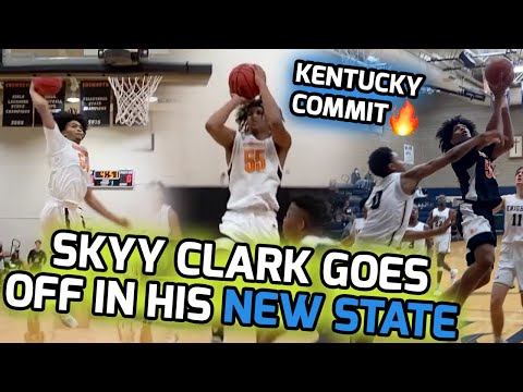 Kentucky Commit Skyy Clark SAUCED EVERYONE In First Season At Tennessee! Ensworth Junior Mixtape! 🍿