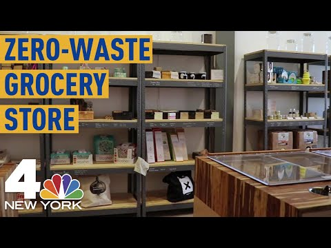 &39;Zero-Waste&39; Grocery Store Opens in New York City  NBC New York