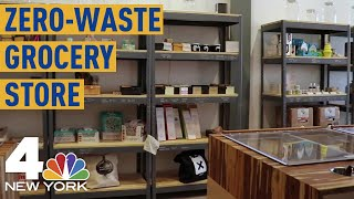 'Zero-Waste' Grocery Store Opens in New York City | NBC New York