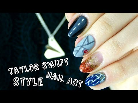 Taylor Swift 'Style' Music Video Nail Art | Sophdoesnails