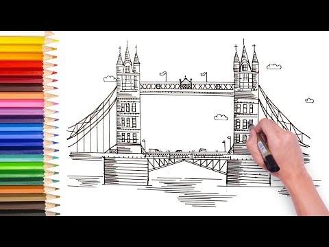 Как нарисовать лондон