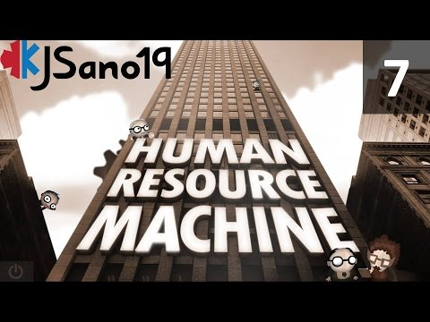 Human Resource Machine - Episode 7 - Vowels and Alphabets - [Levels 34 and 36]