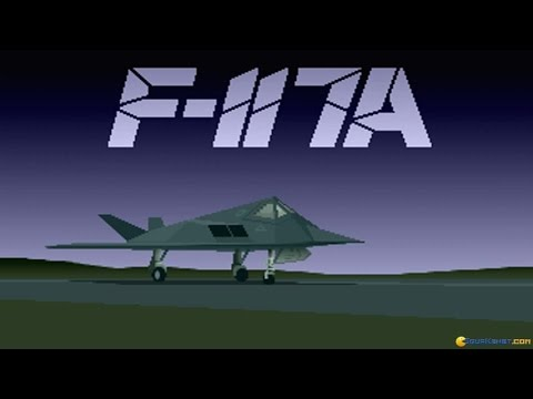 F117 A - Stealth Fighter 2 gameplay (PC Game, 1991)