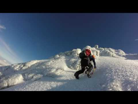 East Ridge, Mount Taranaki