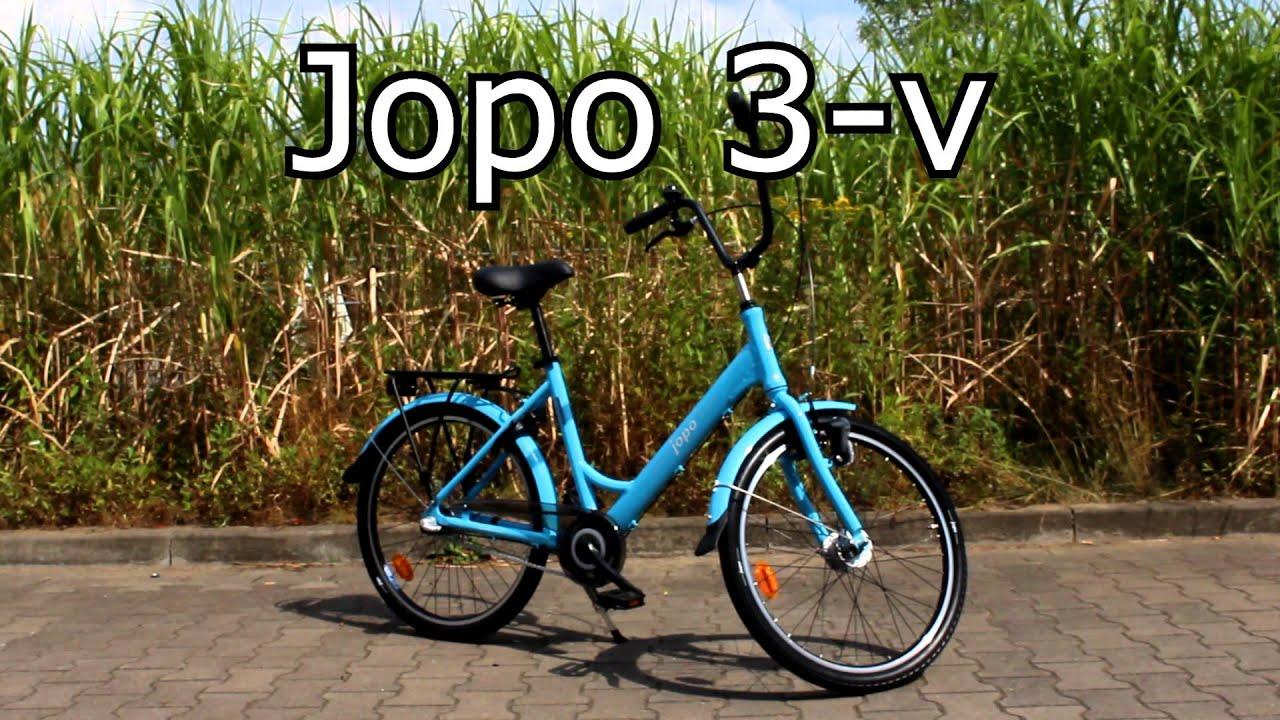 Helkama Jopo Fahrrad Velox 1-V / 3-V / Elektro by G&S Distribution e.K. - YouTube