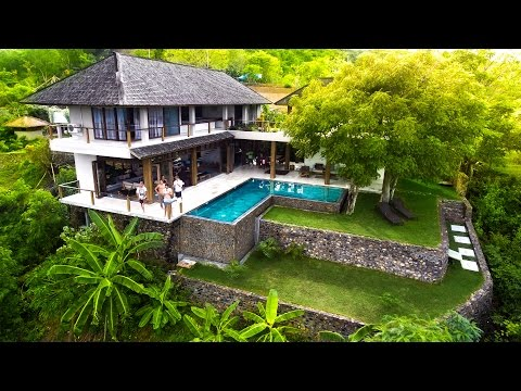 HOUSE TOUR - LUXURY JUNGLE VILLA LOMBOK | VLOG 234
