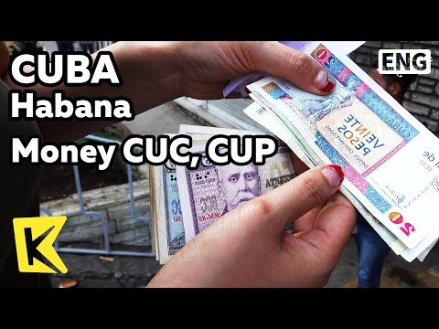 【K】Cuba Travel-Habana[쿠바 여행-아바나]두개의 화페 쿡, 쿱/Money/CUC/CUP/Currency Exchange/Convertible peso