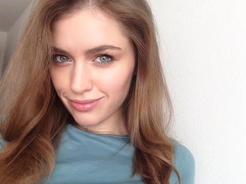 Makeup: Зелёный карандаш🍃, глянцевые губы + наряд outfit 🎶