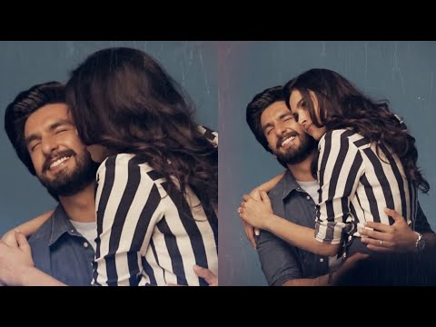 Deepika Padukone plants a KISS on Ranveer Singh's cheeks, pictures go VIRAL Mp3