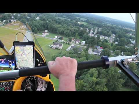 Revo Trike Flight