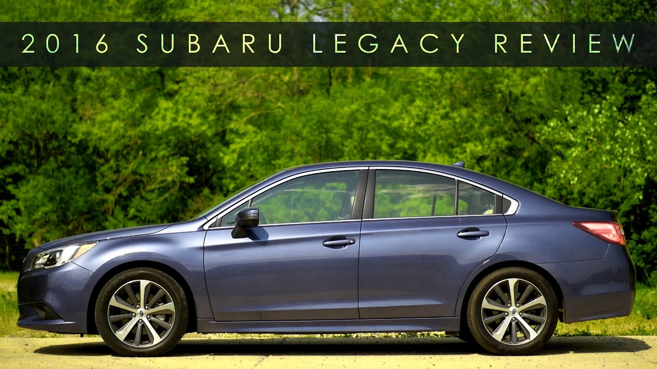 Review | 2016 Subaru Legacy | Simple is Better