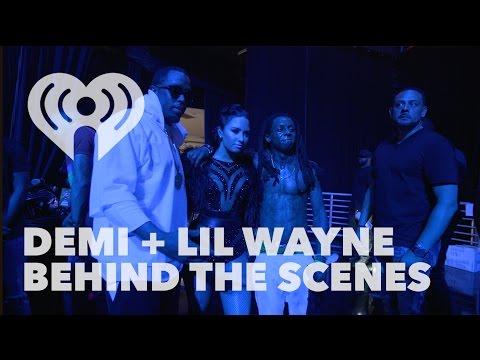 Demi Lovato & Lil Wayne Collide Backstage