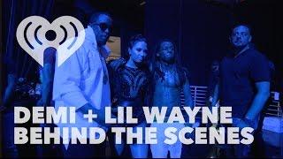 Demi Lovato & Lil Wayne Meeting Backstage | Exclusive