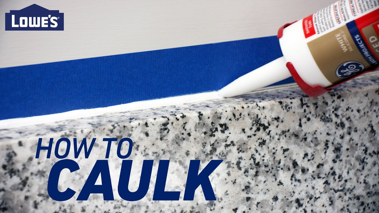 How to Caulk with a Caulking Gun
