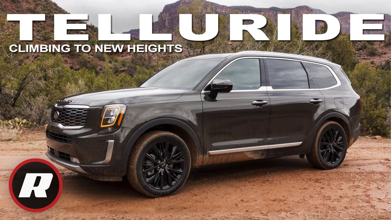 2020 Kia Telluride Review Affordable 3 Row Suv Climbs To New Heights Youtube