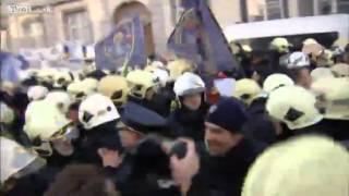 Бельгийская полиция против бельгийских пожарных