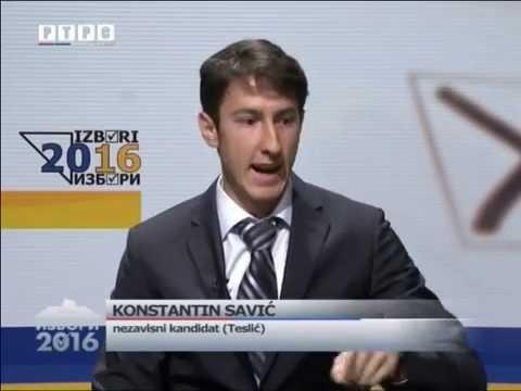 Konstantin Savić, kandidat za načelnika opštine Teslić