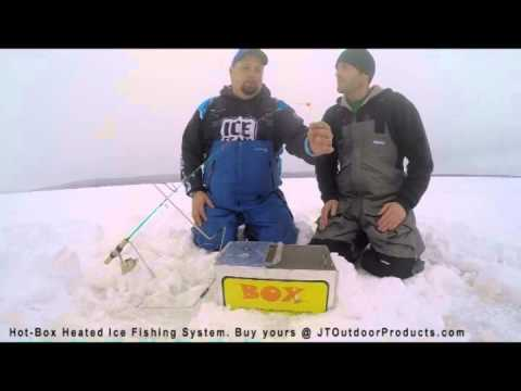 jt outdoor products hot box ice fishing in michigan for