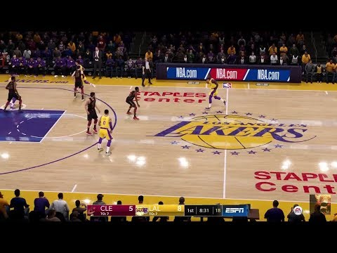 NBA LIVE 19 Cavaliers Vs Lakers LIVE STREAM